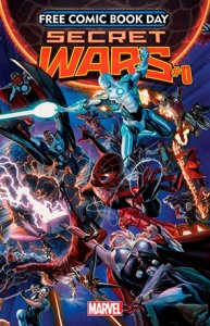 "Marvel Comics' ""Infinity War,"" one of the titles offered for Free Comic Book Day 2015 