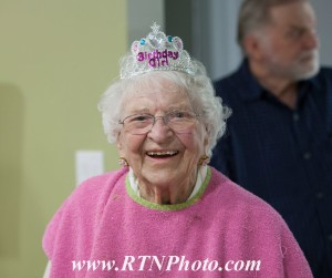 Mary Walker celebrates her 102nd birthday, St. George, Utah, March 14, 2015   Photo by Richard Negron, RTNPhoto, courtesy of Mary Walker, St. George News