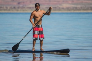 Paddleboarding and sailing event at Sand Hollow Reservoir, Hurricane, Utah, June 2, 2012 | Photo by John Ellis, St. George News