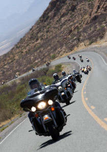 Motorcyclists drive during the Kyle Petty Charity Ride, location and date unspecified | Photo courtesy of the Kyle Petty Charity Ride, St. George News