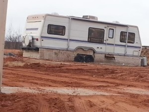 The trailer 17-year-old Sherilyn lived in alone for more than two years, Hildale, Utah, date not specified | Photo courtesy of Ron and Geri Rohbock, St. George News