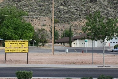 Proposed site of the Historic Hurricane Wayside Park on Street Street, Hurricane, Utah, April 23, 2015 | Photo by Reuben Wadsworth, St. George News