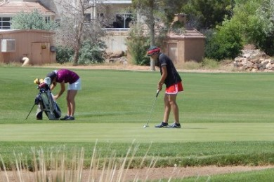 3A Girls Golf Championships at Bloomington Country Club, St. George, Utah, May 123, 2015 | Photo by Andy Griffin, St. George News
