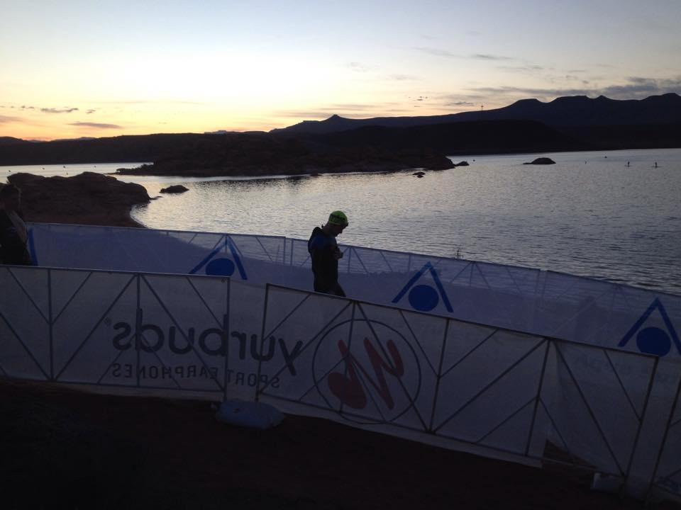 Ironman 70 3 live photo gallery st george news for Sand hollow swimming pool st george