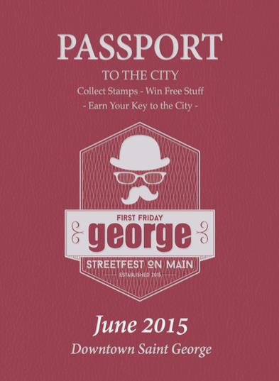 "Passport to the City, ""George, Streetfest on Main,"" St. George, Utah, June 2015 