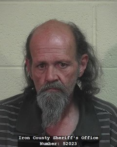 David Wayne Langston, Iron County Jail, Cedar City, Utah, May 4, 2015   Photo courtesy of Iron County Bookings, St. George News