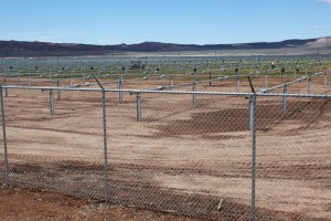 Fields of solar panels will soon be providing power to Iron and Beaver counties. | Photo by Corey McNeil, St. George News