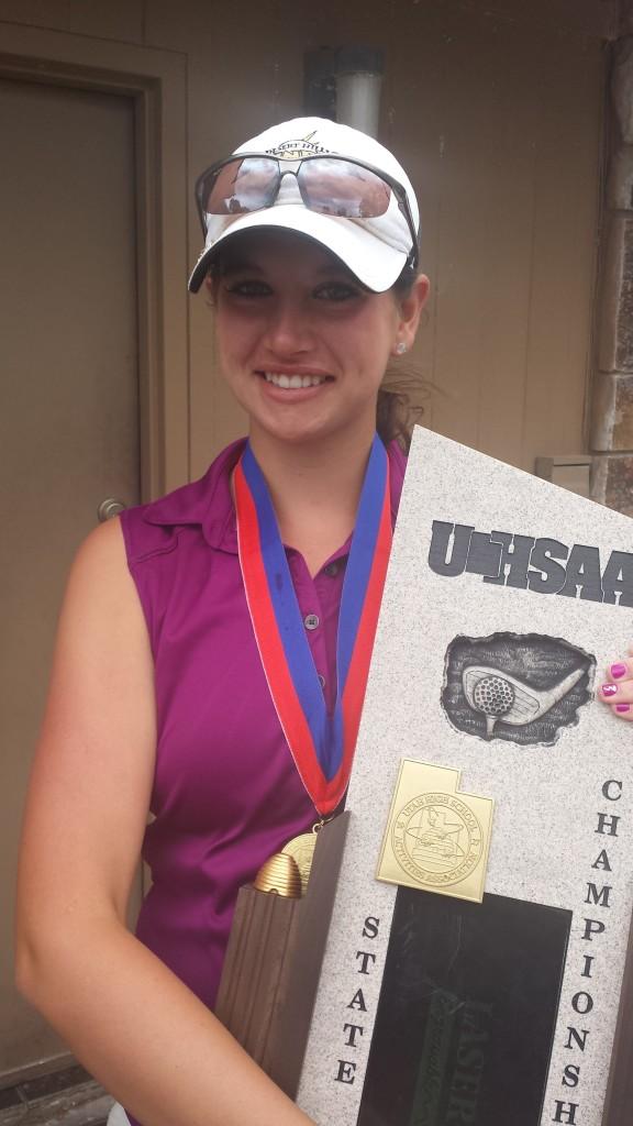 Three-time champion Katie Perkins