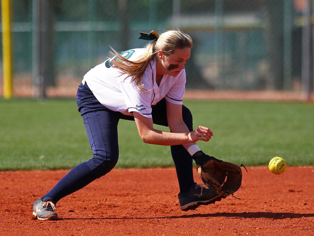 Mada Mooring had a big day, file photo from Snow Canyon vs. Tooele, Softball, St. George, Utah, May 15, 2015 | Photo by Robert Hoppie, ASPpix.com, St. George News