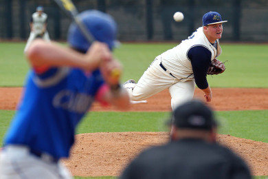 Ike Jorgensen on the mound for Snow Canyon, Snow Canyon vs. Carbon, Baseball, St. George, Utah, May 15, 2015 | Photo by Robert Hoppie, ASPpix.com, St. George News