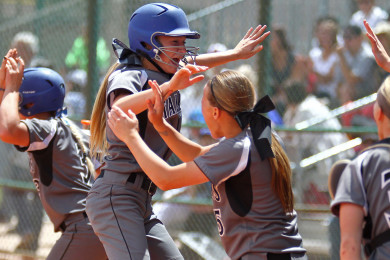 Stansbury vs. Bear River, 3A State Softball Championship Game, St. George, Utah, May 16, 2015 | Photo by Robert Hoppie, ASPpix.com, St. George News