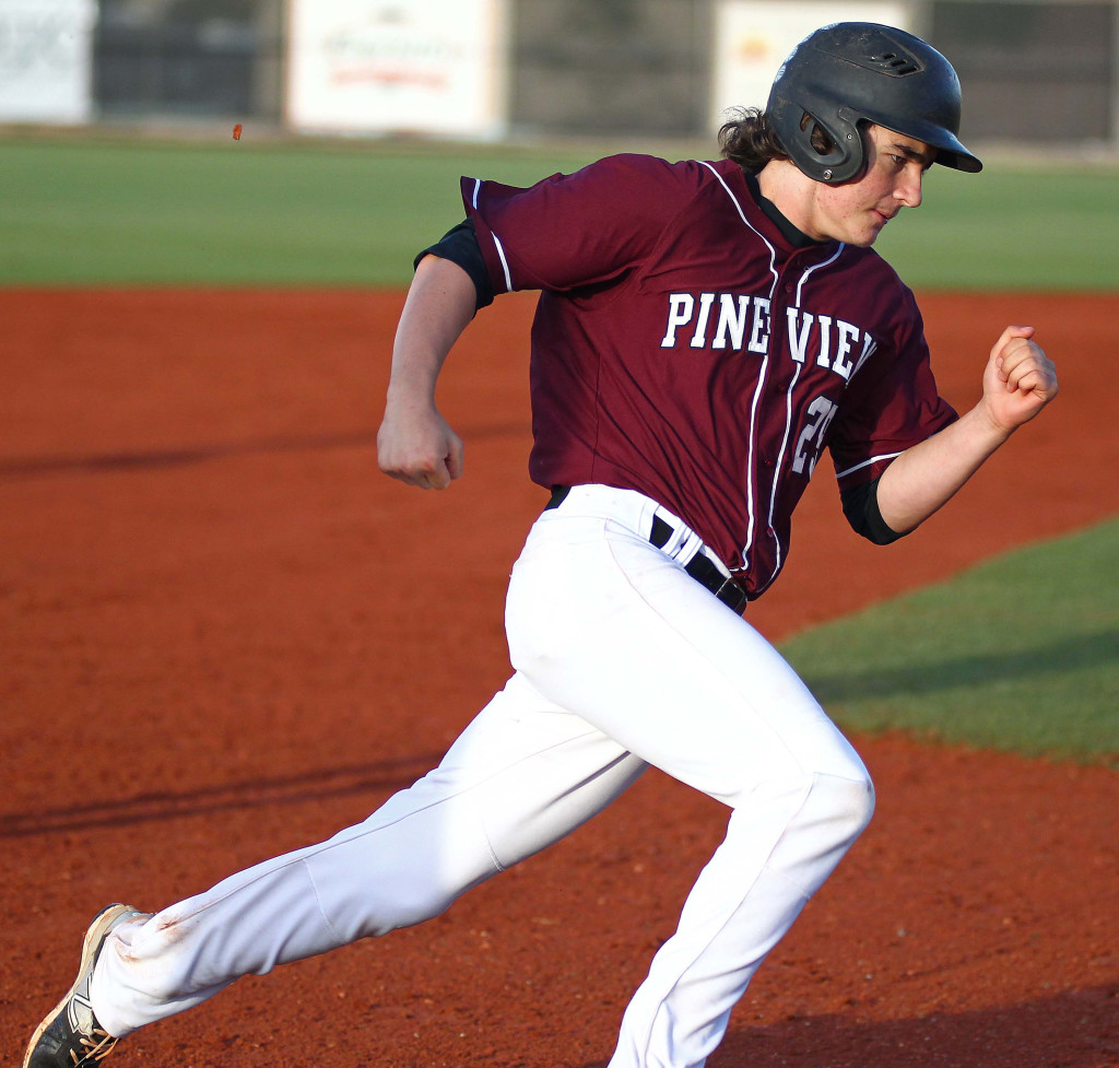 Connor Clark, file photo from Pine View vs. Juab, Baseball, St. George, Utah, May 9, 2015 | Photo by Robert Hoppie, ASPpix.com, St. George News