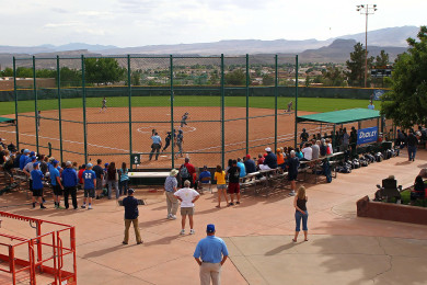NJCAA Division I National Championship Softball Tournament, St. George, Utah, May 13, 2015 | Photo by Robert Hoppie, ASPpix.com, St. George News