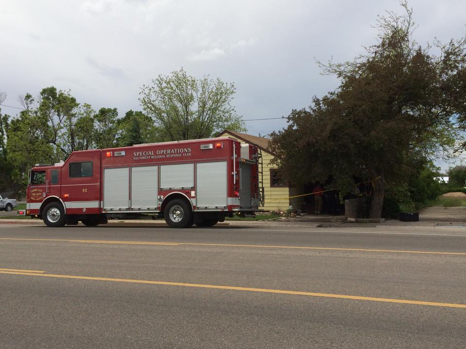 Man Barricades Himself In Home Sets It On Fire 2