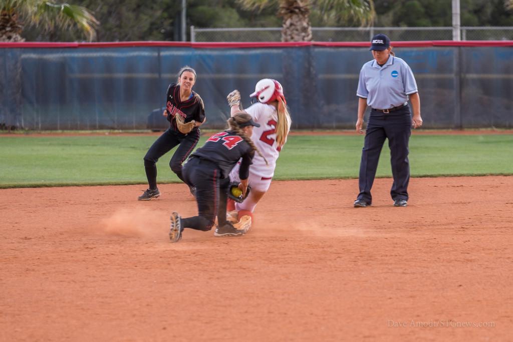 Dixie State vs. Saint Martin, NCAA Regional softball, St. George, Utah, May 7, 2015 | Photo by Dave Amodt, St. George News