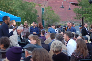 Fifth annual Equality Utah Celebration, Ivins, Utah, May 9, 2015 | Photo by Hollie Reina, St. George News