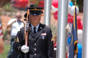 Southern Utah Veterans Home Eagle Monument Dedication, Ivins, Utah, May 29, 2015 | Photo by Hollie Reina, St. George News