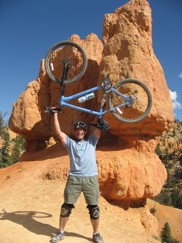 Dr. Paul Navar, Virgin River Rim Trail, St. George, Utah, 2008 | Photo courtesy of Marsha Navar, St. George News