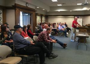 Cedar City Council, Council Chambers, Cedar City, Utah, May 6, 2015   Photo by Carin Miller, St. George
