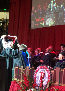 Dixie State University Commencement Ceremony, Dixie State University M. Anthony Burns Arena, St. George, Utah, May 8, 2015 | Photo by Carin Miller, St. George News