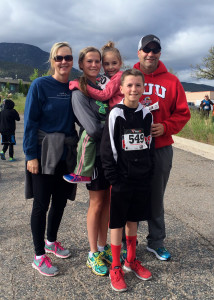 The Little family at the 5K and Quarter Marathon Fun Run for the Iron County Children's Jusice Center, Iron County Children's Justice Center, Cedar City, Utah, May 16, 2015 | Photo by Carin Miller, St. George News