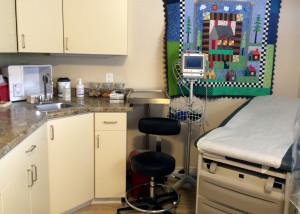 New exam room at the Iron County Children's Jusice Center, Iron County Children's Justice Center, Cedar City, Utah, May 16, 2015 | Photo by Carin Miller, St. George News