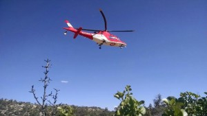 Life Flight assists in a search and rescue mission, Snow Canyon State Park, Utah, May 19, 2015   Photo courtesy of Washington County Search and Rescue, St. George News