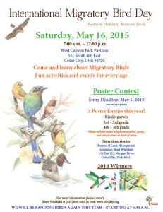 International Migratory Bird Day Festival flyer | Photo courtesy of the Bureau of Land Management, St. George News