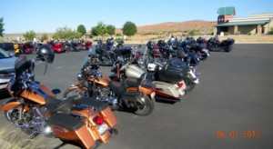 Utah Downed Biker Fund rally, location and date unspecified | Photo courtesy of Roxanne Leonard, St. George News