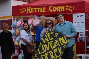 Community members support fundraising to benefit Derek Hoyt, Cedar City, Utah, May 11, 2015 | Photo courtesy of Kayleigh Bronson, St. George News