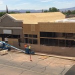 Progress continues on the Electric Theater as it is converted into a community arts center, St. George, Utah, May 1, 2015 | Photo by Mori Kessler, St. George News