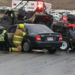 An accident on Telegraph Road sent one woman to the hospital, Washington, Utah, Saturday, May 23, 2015   Photo by Ric Wayman, St. George News
