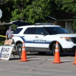 Scene of a fatal incident in which a vehicle hit a man at 300 N. 35 West, Hurricane, Utah, May 19, 2015   Photo by Trevor Sanders, St. George News