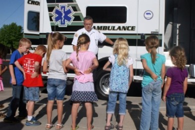 Children learn about safety during a session of Safety Town, location and date not specified | Photo courtesy of the St. George Leisure Services, St. George News