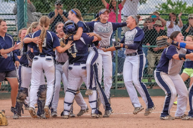 Junior college champion Chipola College, Chipola (Fla.) vs. NE Oklahoma A&M, NJCAA Championship at The Canyons, St. George, Utah, May 16, 2015 | Photo by Dave Amodt, St. George News