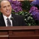 President Thomas S. Monson at a session of the LDS Church's general conference, Salt Lake City, Utah, Oct. 6, 2012 | Photo courtesy of The Church of Jesus Christ of Latter-day Saints