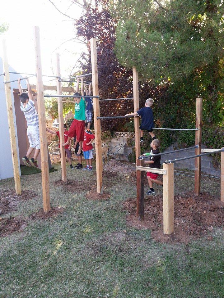 "Part of the Beckstrand ""American Ninja Warrior"" course | Photo courtesy Beckstrand family"