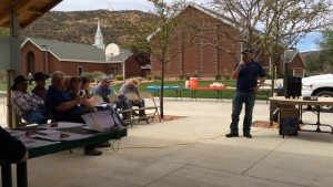 Cattlemen meeting organized in opposition the Grand Canyon Watershed National Monument, Moccasin, Arizona, May 1, 2015   Photo by Cami Cox Jim, St. George News