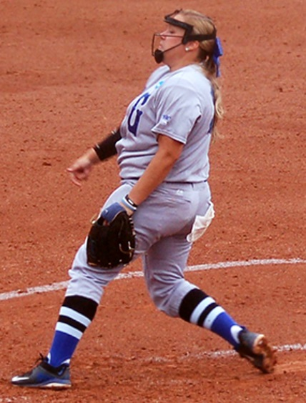 UNG All-American pitcher Courtney Poole