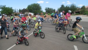 Horde of cyclists about safe riding, Ivins, Utah, May 29, 2014   Photo by Mori Kessler, St. George News