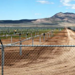Solar power in Iron County is taking shape outside of Parowan. Photo by Corey McNeil, St. George News