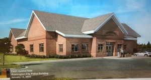 A conceptual rendering of the new Washington City Police Station | Image courtesy of Washington City, St. George News