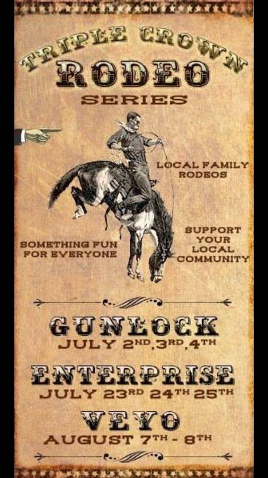Event flyer | Photo courtesy of the Gunlock Rodeo Facebook Page, St. George News | Click image to enlarge