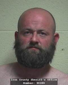 Daniel Merrill Bott, Iron County Jail, Cedar City, Utah, June 30, 2015 | Photo courtesy of Iron County Bookings, St. George News
