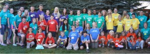 Attendees of Camp Kesem SUU Chapter, Cedar City, Utah, 2014 | Photo by Courtney Graves, St. George News