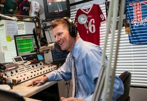 Devin Dixion host on ESPN radio, location and date unspecified | Photo courtesy of Linda Elwell, St. George News