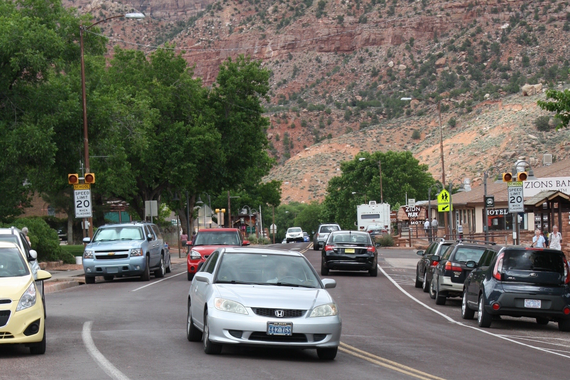 Downtown Springdale, Utah, June 11, 2015 | Photo by Reuben Wadsworth, St. George News