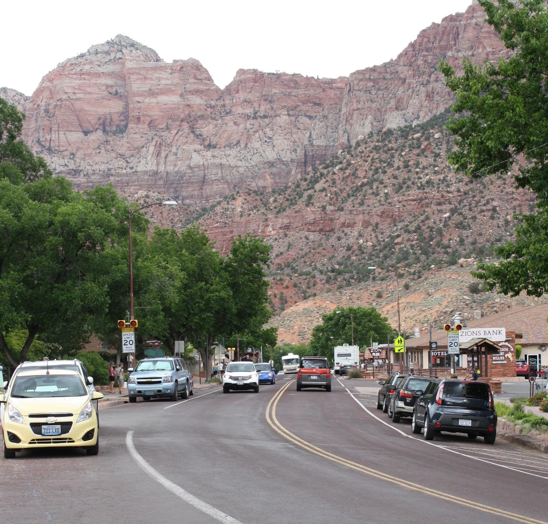 Downtown Springdale, Utah, June 11, 2015 | Photo by Reuben Wadsworth, St. George News