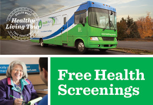 Free health screenings are available through HealthMart, location and date unspecified | Image courtesy of HealthMart, St. George News