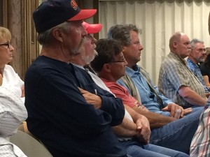 Iron County residents attended City Council to complain about the Upper Limit Aviation flight school helicopter noise in their area, Council Chambers, Cedar City, Utah, date | Photo by Carin Miller, St. George News